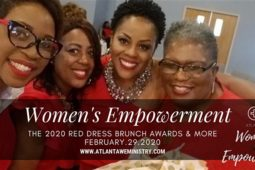 2020 Red Dress Brunch Awards – Decatur, GA
